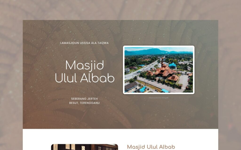work 1 masjid ulul albab studio 61