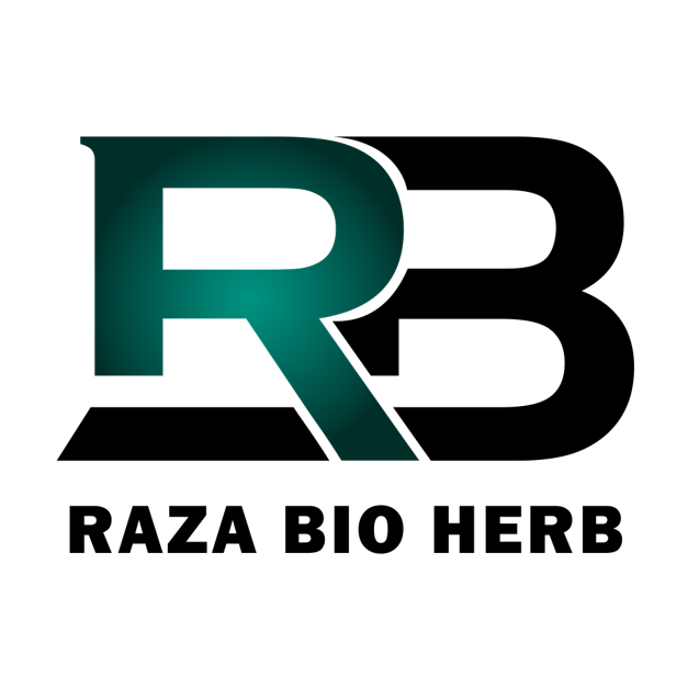 raza bio herb logo