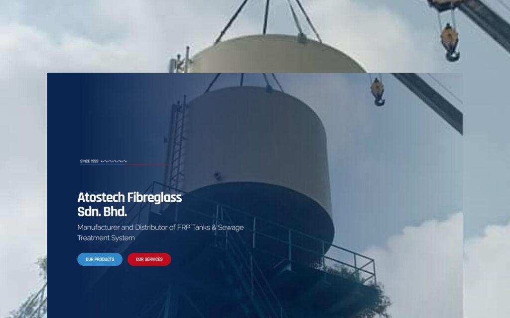 atostech fibreglass website